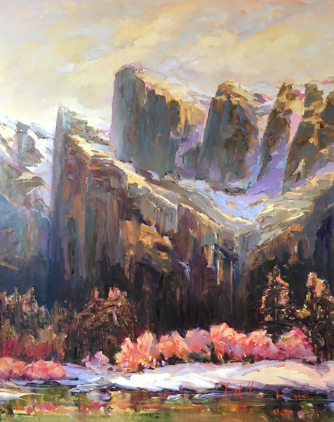 """Cathedral Peaks"" by Joan Hoffmann"