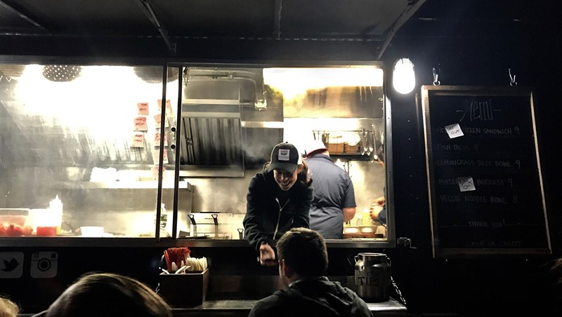 Lindsay Taylor, Pioneer Food Truck