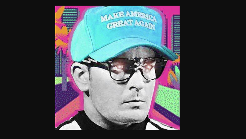"A social media profile image of ""Ricky Vaughn"""