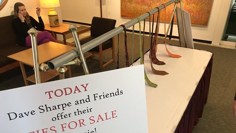 Rep. Dave Sharpe's Statehouse tie sale