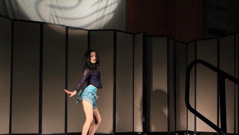 Cultural Mosaic: Susmita Dhakal Brings Bollywood Vibe to A2VT