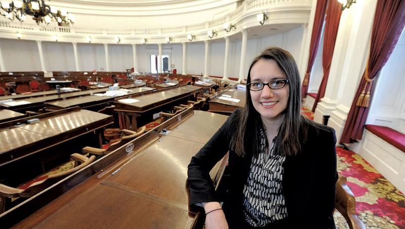 House Majority Leader Jill Krowinski (D-Burlington)