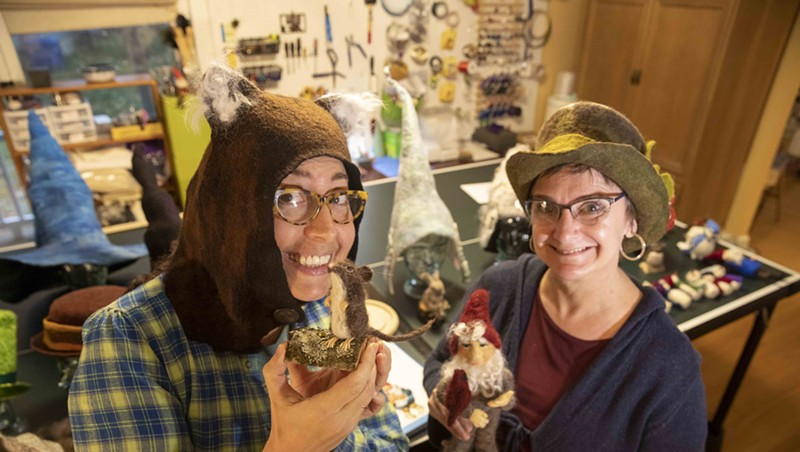 Stuck in Vermont: Susi Ryan Crafts Fanciful Creatures for The Felted Gnome Knows