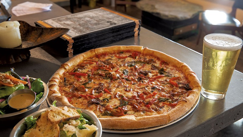 Two Vermonters Make Pies and Friends at Stone's Throw Pizza