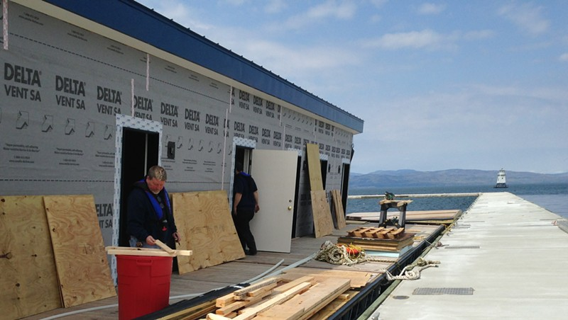 New Marina to Open Saturday on the Burlington Waterfront