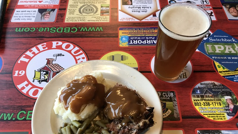 Pot roast and beer at the Pour House