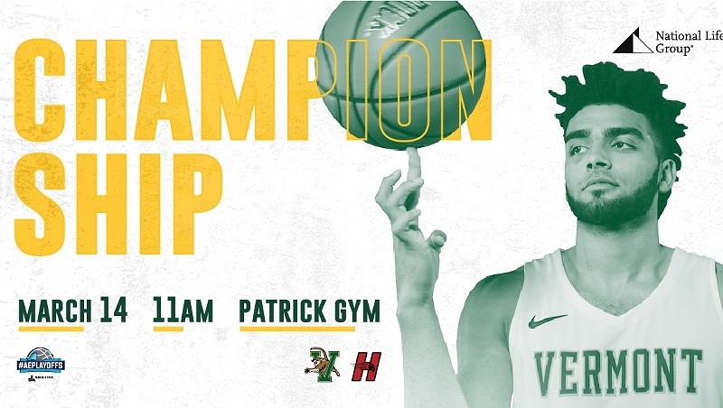 UPDATE: America East Cancels UVM Basketball Championship Game