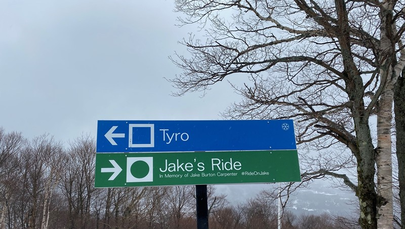 Stowe Renames Trail 'Jake's Ride' in Honor of Late Burton Founder