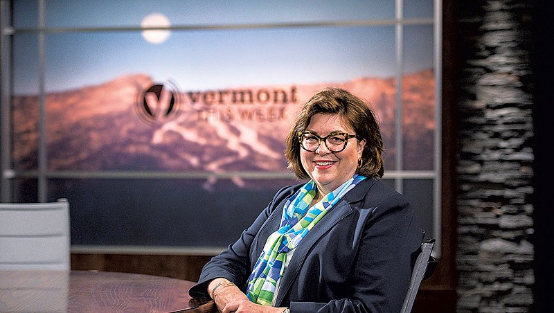 Vermont PBS president and CEO Holly Groschner