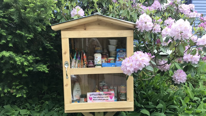 Little Free Pantries Pop Up in Burlington Neighborhoods