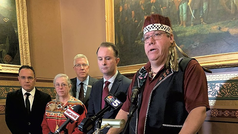 Scott Signs Bill Recognizing Abenaki Hunting, Fishing Rights