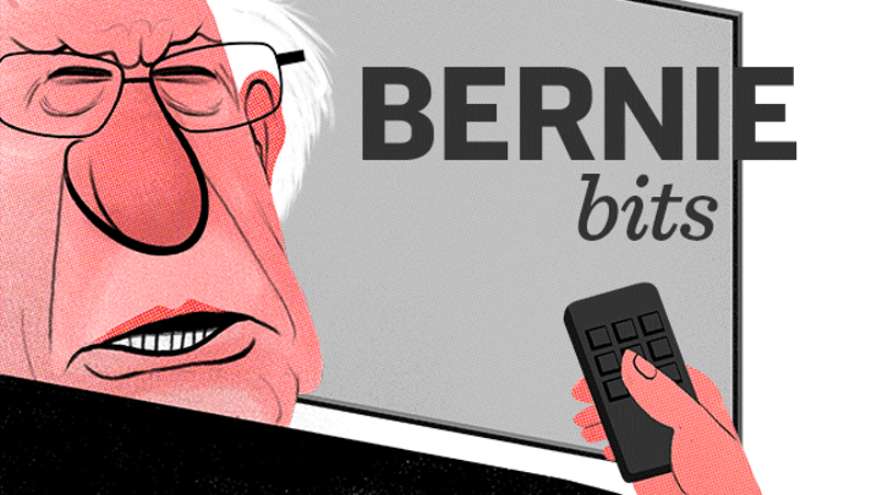 Bernie Bits: Sanders, Clinton Clash on Sunday Shows