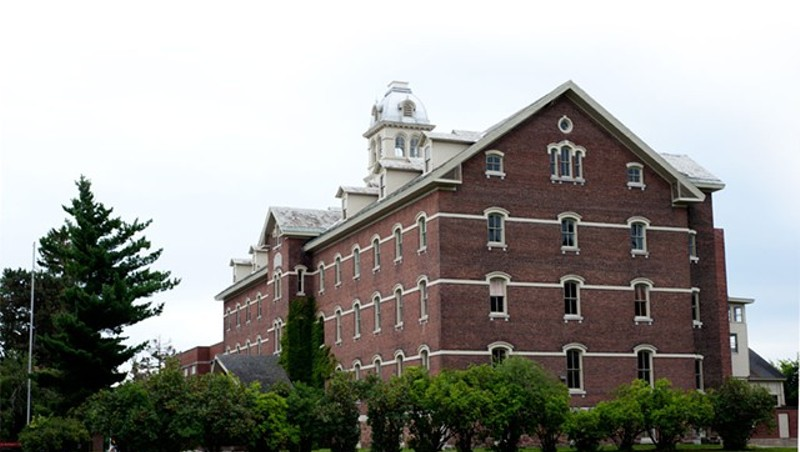 The former orphanage