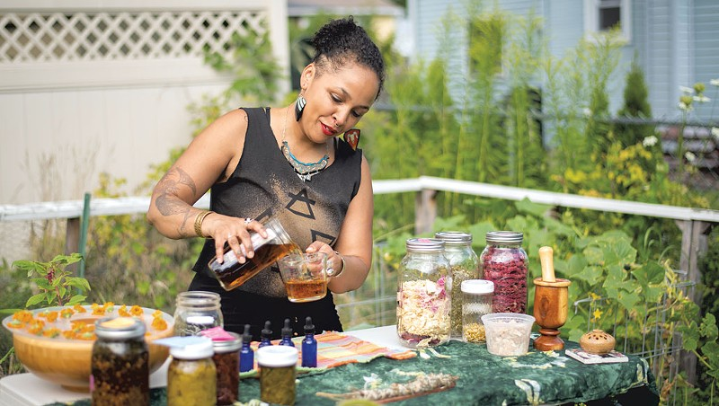 Bottom Line: In Winooski, Candace Jennifer Taylor Creates a 'Wholeness Center' for BIPOC Healing