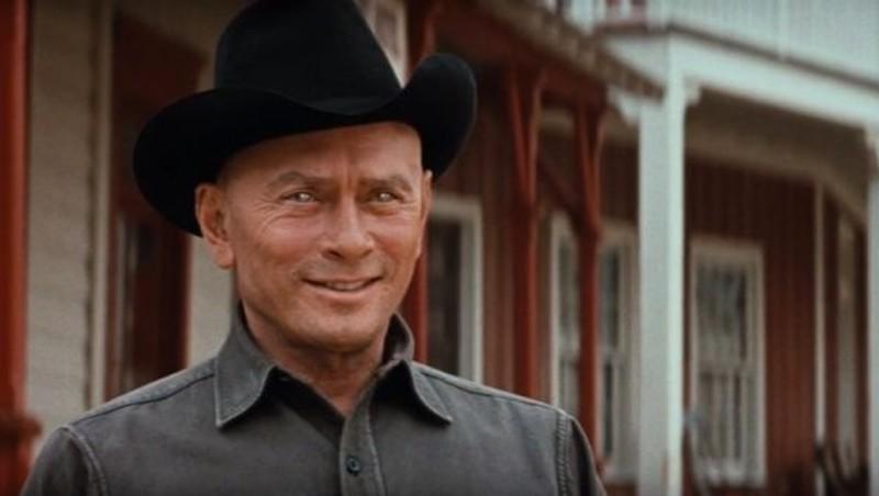 Yul Brynner as the steely-eyed gunslinger in Westworld.