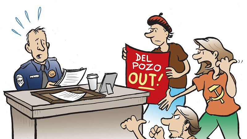 Red Scare: Former Police Chief del Pozo Claims Burlington's 'Socialists' Did Him In