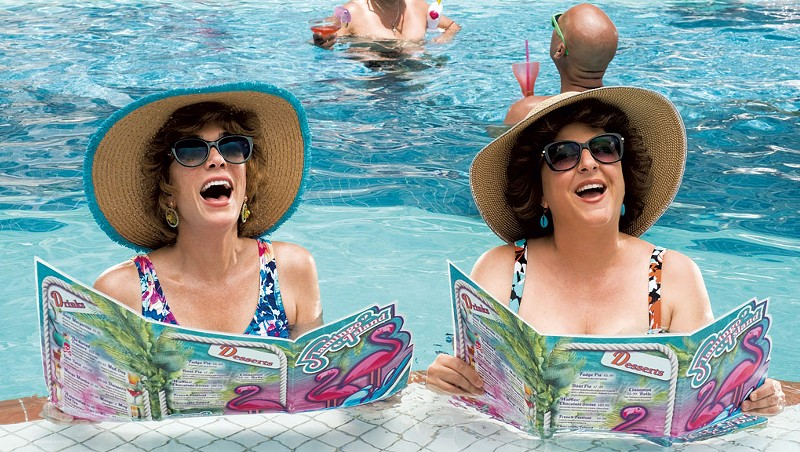 LAST RESORT Wiig and Mumolo play best friends whose Florida vacation gets surreal in Greenbaum's comedy.
