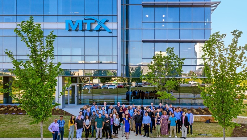 MTX's Frisco, Texas, office and staff in April 2021