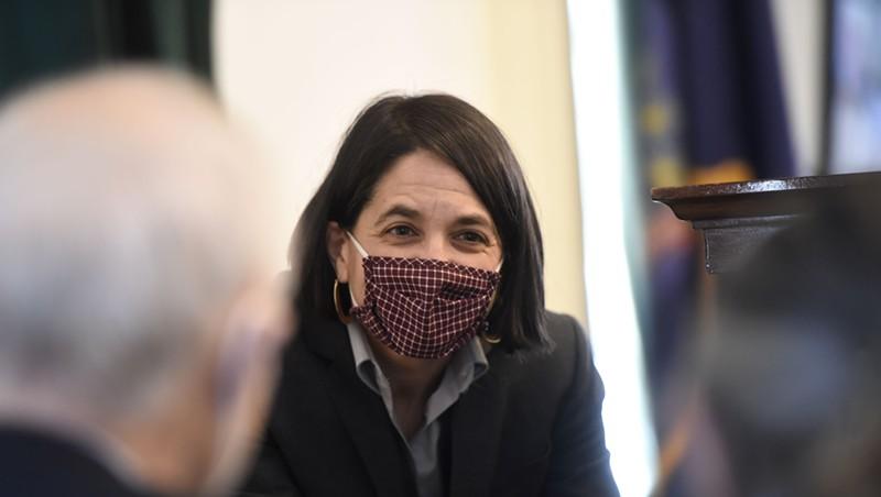 Senate President Pro Tempore Becca Balint