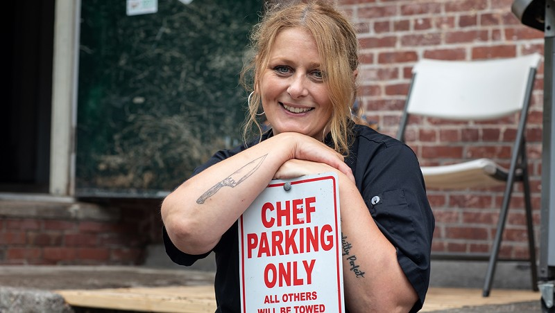 Grilling the Chef: Luiza Bloomberg Feeds UVM Fraternity Brothers