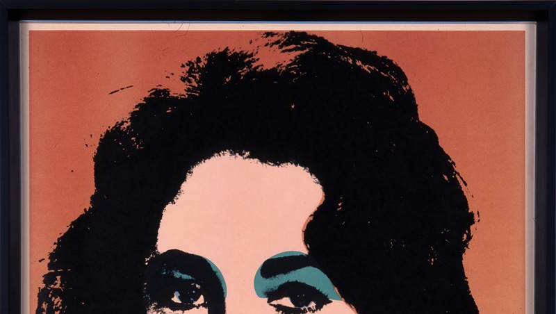 """Liz (F. & S.7),"" lithograph by Andy Warhol"