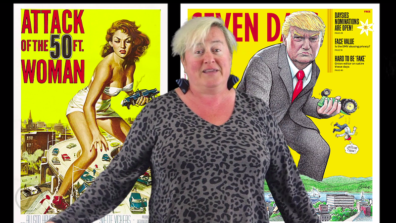 What's the Deal With Our 50-Foot Donald Trump Cover?