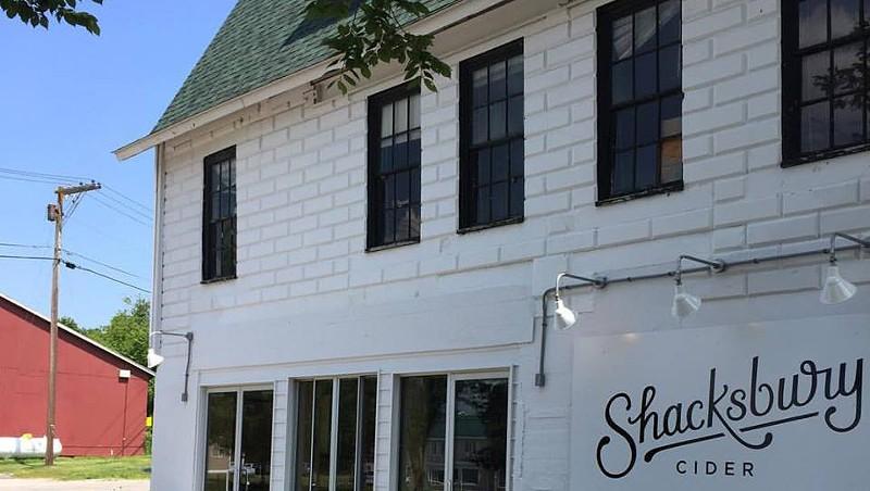 Shacksbury's tasting room in Vergennes