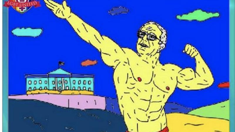 Walters: Bolshie Bots Boost 'Buff Bernie'