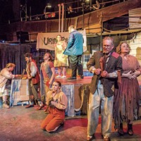 Theater Review: 'Urinetown,' Lost Nation Theater