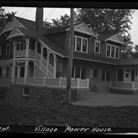 The Altona Dam 1912 Sept Village Power House Courtesy Of William H. Miner Agricultural Research Institute