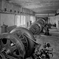 The Altona Dam Powerhouse, interior Courtesy Of William H. Miner Agricultural Research Institute