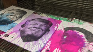 Drying posters