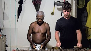 Jud Wellington with José 'Don Nacho' Caicedo in Ecuador