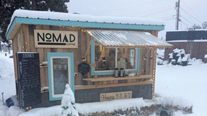 Nomad Coffee Moves to the Slopes