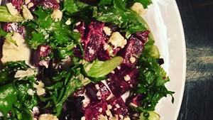 Beet salad at Notte