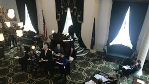 Vermont's Senate gets sexual harassment prevention training.