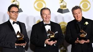 Left to right: Héctor Del Curto, Pablo Ziegler and Claudio Ragazzi