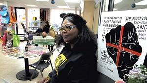 Ebony Nyoni at Shop 4 Change in Winooski