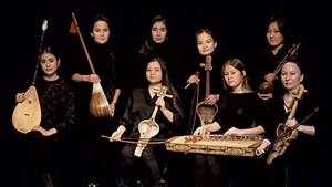 The Qyrq Qyz musicians