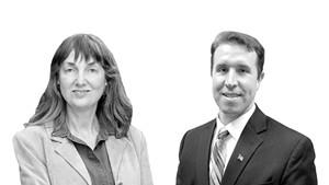 Sue Higby and Lucas Herring