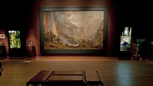 """The Domes of the Yosemite"" at the Charles Hosmer Morse Museum of American Art, after restoration"