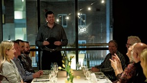 Hotel Vermont hosted a dinner as part of Zephyr Conferences' second annual Beer Marketing & Tourism Conference