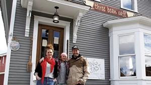 Café Salud owner Sarah Natvig (left)
