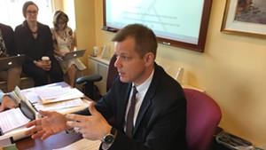 Tax Commissioner Kaj Samsom