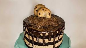 Sweet Babu chocolate-chip-cookie cake