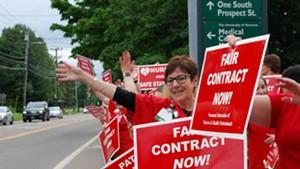 Nurses' Union to Serve UVM Medical Center With a Strike Notice