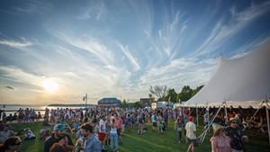 Waterfront Park during Burlington Discover Jazz Festival