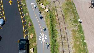 Roll With It: Two-wheeling in Burlington