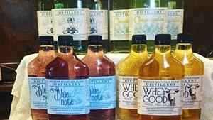 Hooker Mountain distillery's bottled output