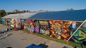 Above the Radar Fest Brings Dynamic Graffiti to Burlington